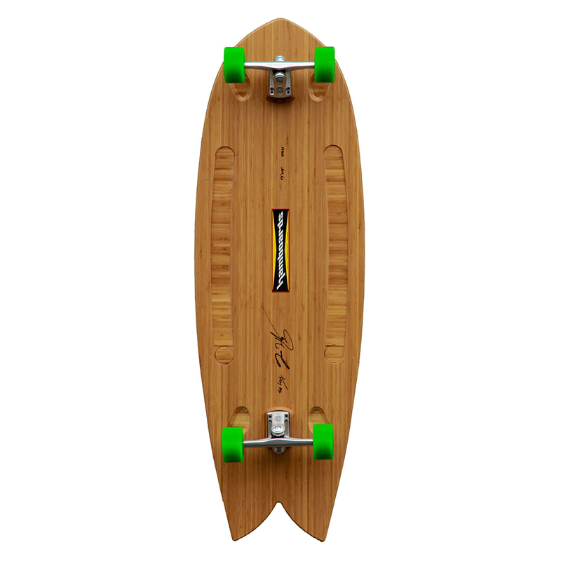 Hamboards Fish Natural Bamboo